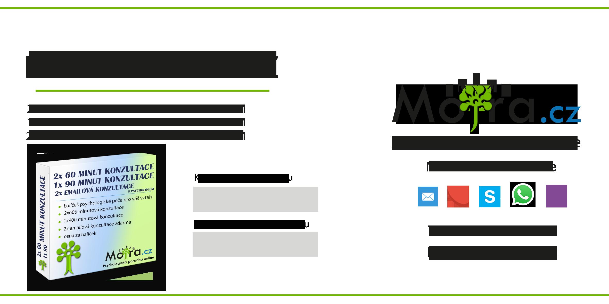 Balíček psychologické péče pro váš vztah