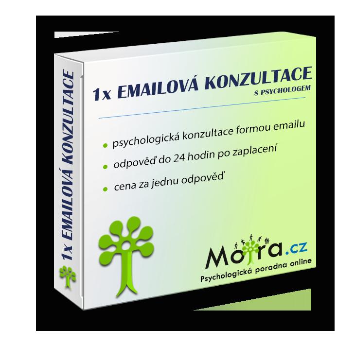 Emailová konzultace s psychologem