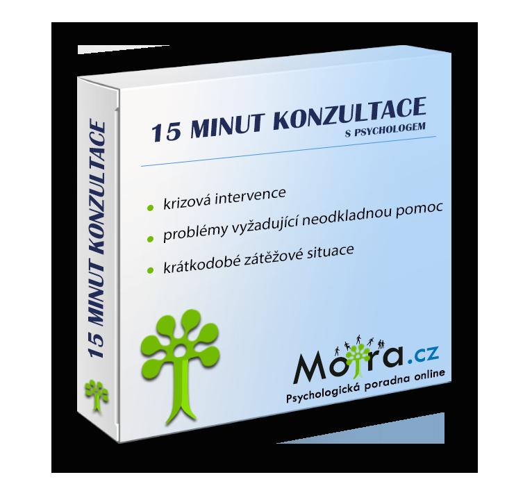 15-ti minutová konzultace - Otázka na psychologa
