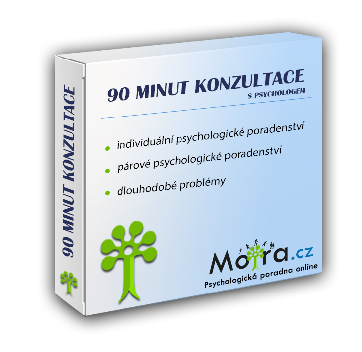 90 minut konzultace s psychologem