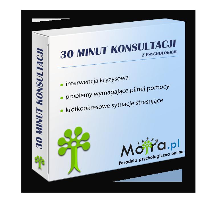 30 minut konzultace s psychologem